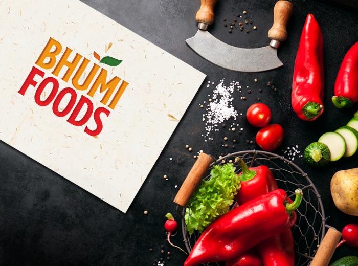 Bhumi-Foods-Visiting-card-design
