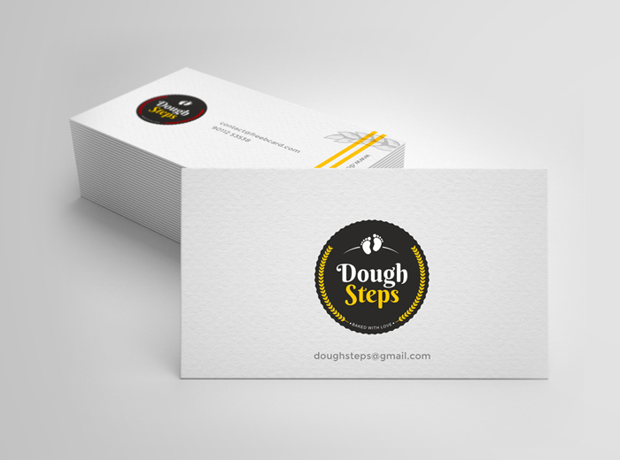 Dough-Steps-Visiting-Card-design