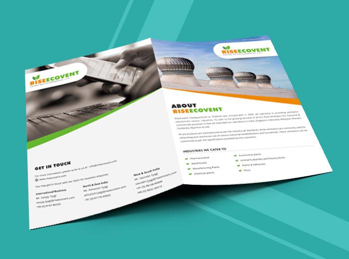 Riseecovent Brochure Design