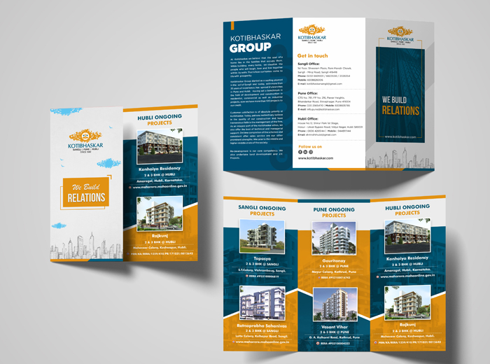 Kotibhaskar Brochure Design