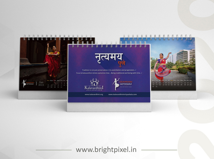 Nrityamay Table Calendar