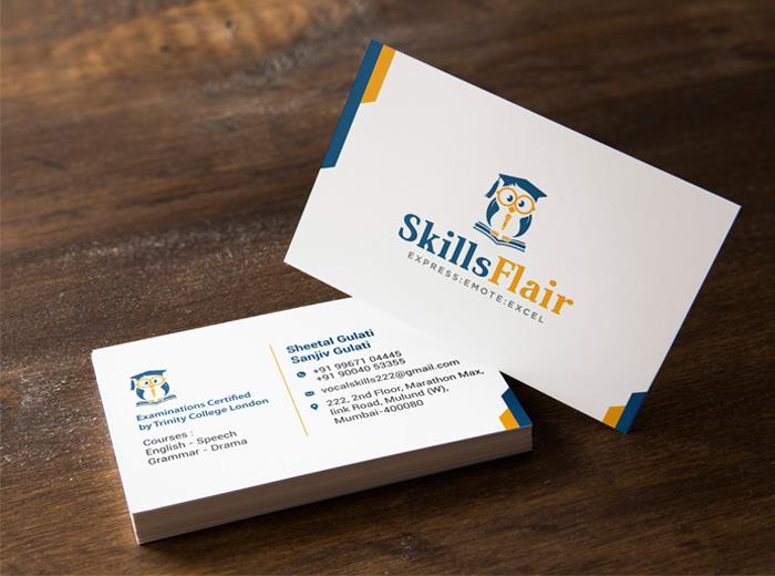 Skillsflair-visiting-card-Design
