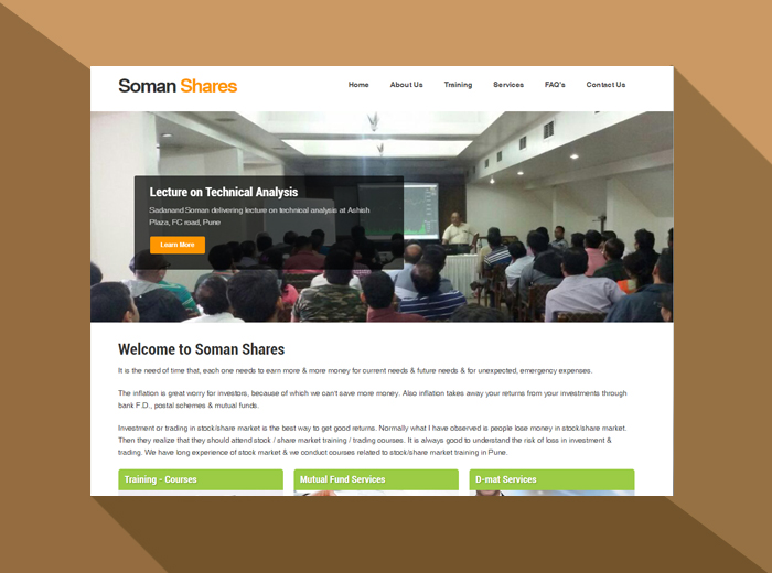 Soman shares